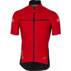 Castelli perfetto light 2 maillot de cyclisme manches rouge