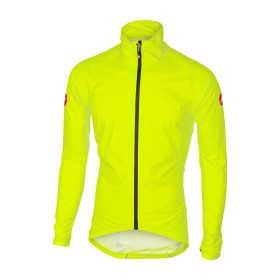 Castelli emergency veste imperméable jaune fluorescent