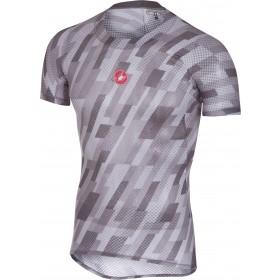 Castelli pro mesh sous-vêtement manches courtes gris