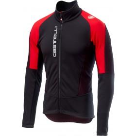 Castelli mortirolo v veste de cyclisme noir rouge