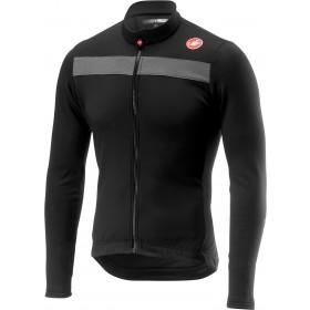 Castelli puro 3 maillot de cyclisme manches longues noir clair