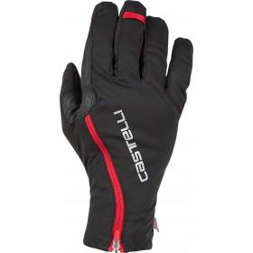Castelli spettacolo ros gants de cyclisme noir rouge