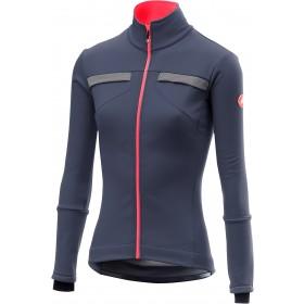 Castelli dinamica reflex veste de cyclisme femme steel bleu foncé