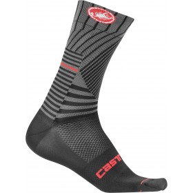 Castelli pro mesh 15 chaussures de cyclisme noir rouge