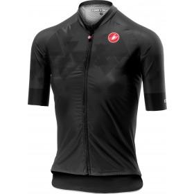 Castelli aero pro maillot de cyclisme manches courtes femme gris foncé