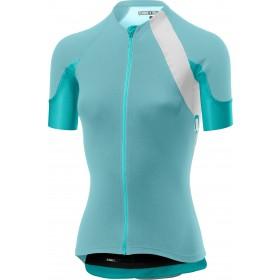 Castelli scheggia 2 maillot de cyclisme manches courtes femme aruba bleu turquoise vert