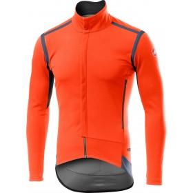 Castelli perfetto RoS maillot de cyclisme à manches longues orange