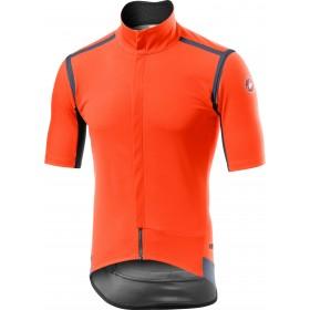 Castelli gabba RoS maillot de cyclisme à manches courtes orange