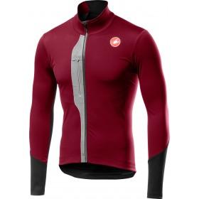 Castelli trasparente V maillot de cyclisme à manches longues matador rouge