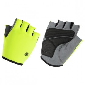 AGU solid essential gants de cyclisme fluo jaune
