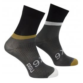 Agu six6 pnsc chaussettes de cyclisme noir
