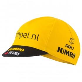 Agu Jumbo-Visma fietspet geel 2019