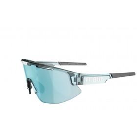 Bliz Matrix Bril Transparent Ice Blue - Smoke W Ice Blue Multi Lens