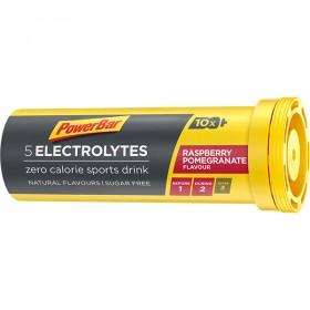 Powerbar electrolyte tabs raspberry pomegranate (10 stuks)