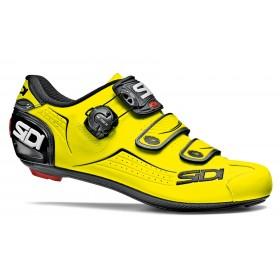 Sidi alba chaussures route fluo jaune noir