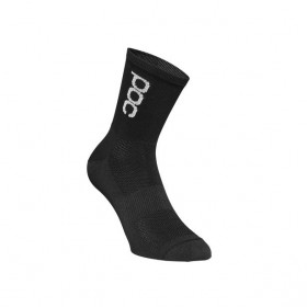 Poc essential road light chaussette de cyclisme noir