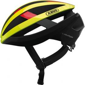 Abus viantor casque de vélo neon jaune
