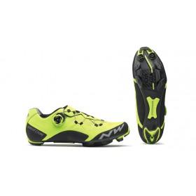 Northwave ghost xcm chaussures vtt fluo jaune noir