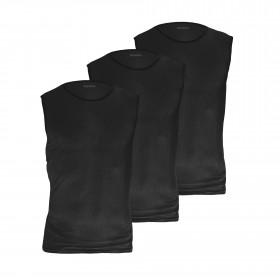 GripGrab ultralight mesh sous-vêtement sans manches noir (3-pack)