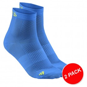 CRAFT Cool Mid Sock 2-Pack Ray