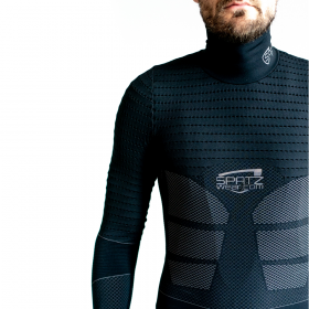 Spatzwear Basez 2 Maillot Manches Longues Black