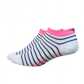 Defeet aireator speede team chaussetes cycliste rose flamant