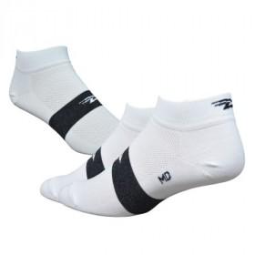 Defeet aireator speede team chaussetes cycliste blanc noir