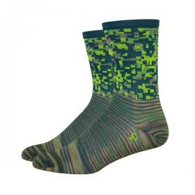 DEFEET Sock Aireator Hi-Top Camo Green
