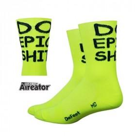 DEFEET Sock Aireator Double Cuff Hi-Top Do Epic