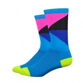 Defeet aireator high top chaussettes de cyclisme gamut