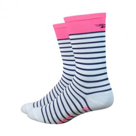 Defeet aireator high top chaussettes sailor rose