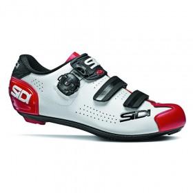 Sidi Alba 2 Binero race chaussures de cyclisme blanc rouge noir