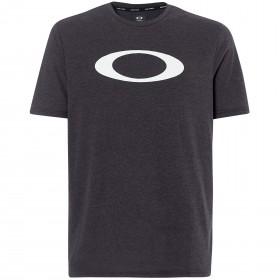 Oakley o-bold ellipse t-shirt blackout light heather