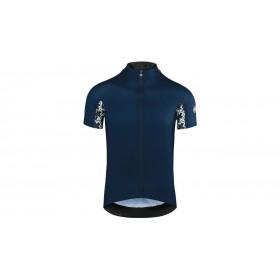 Assos mille GT maillot de cyclisme manches courtes caleum bleu
