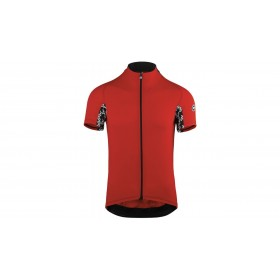 Assos mille GT maillot de cyclisme manches courtes national rouge