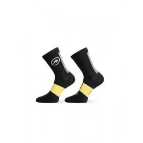 Assos spring/fall chaussettes de cyclisme blackseries noir
