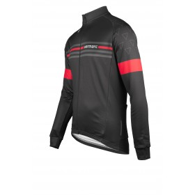 VERMARC Attaco Jersey LS Black Red