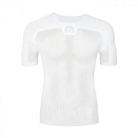 Megmeister drynamo vêtement avec manches courtes blanc