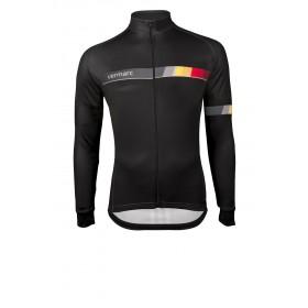 Vermarc belgica sp.l maillot de cyclisme manches longues noir