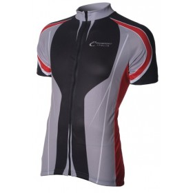 Bici Shirt KM Black/Grey/Red V3a