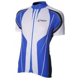 Bici Shirt KM White/Royal v4