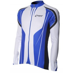 Bici Shirt LM White/Royal v4
