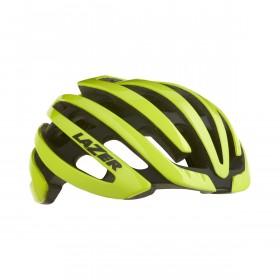 Lazer Z1 casque de vélo flash jaune (y compris aeroshell + Led)