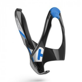 ELITE Bidonhouder Cannibal Glossy Black - Blue Logo