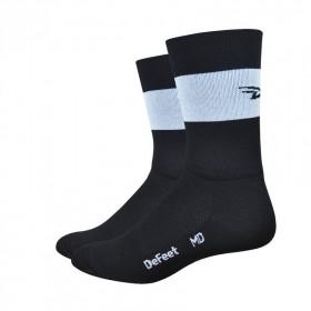 DEFEET Sock Aireator Team Defeet Black White