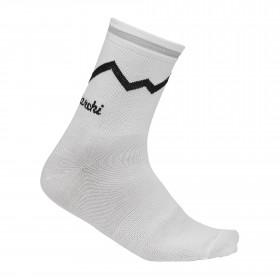 De Marchi classici chaussettes de cyclisme blanc