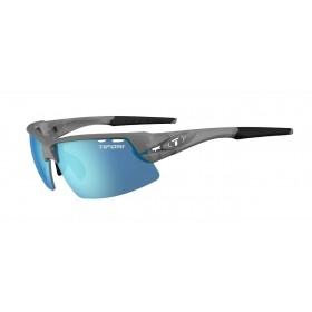 Tifosi crit fietsbril matte smoke - enliven off-shore polarized lens
