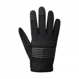 Shimano early winter gants de cyclisme noir