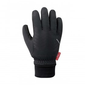 Shimano windstopper thermal gants de cyclisme noir