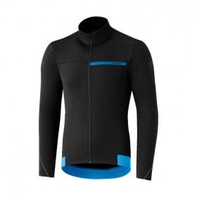 Shimano thermal winter maillot de cyclisme manches longues noir
